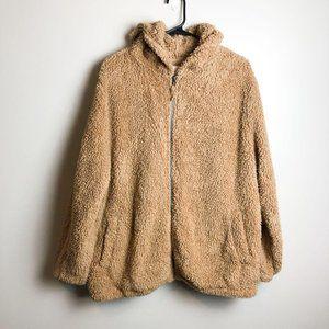 SO Cozy Softest Sherpa Teddy Jacket